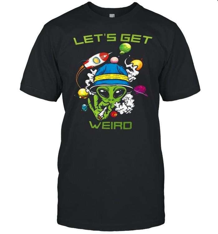 Lets Get Weird shirt Classic Men's T-shirt