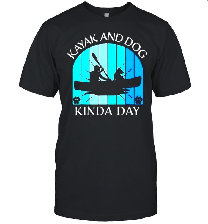 Kayak and dog kinda day shirt Classic Men's T-shirt