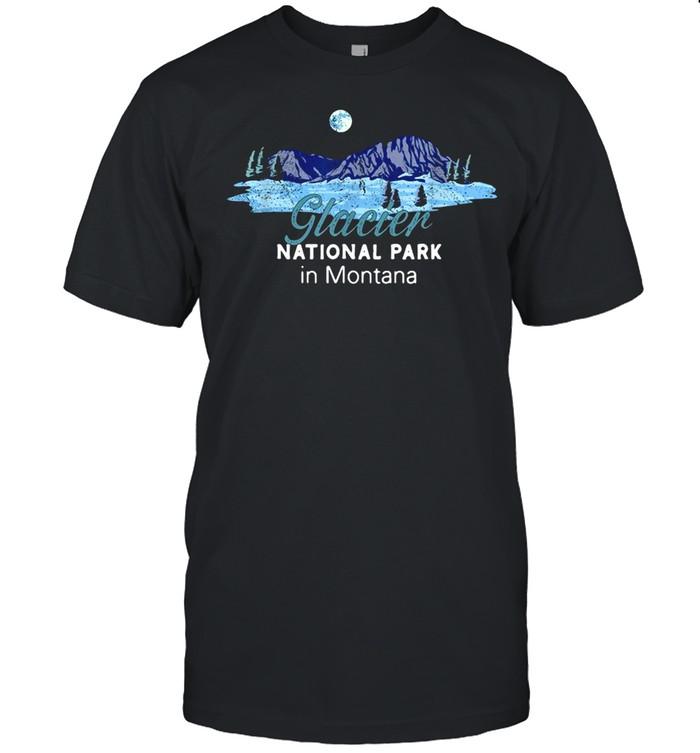 Glacier National Park In Montana T-shirt Classic Men's T-shirt
