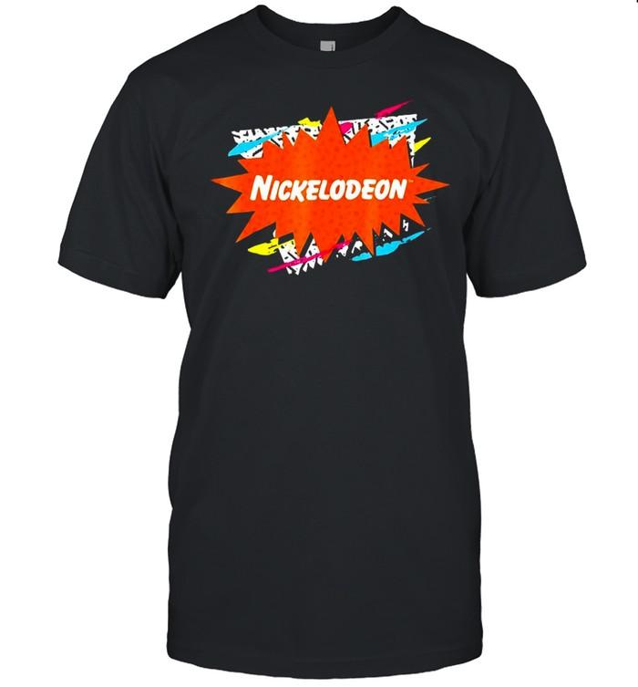 Nickelodeon Retro Logo Graphic T-shirt Classic Men's T-shirt