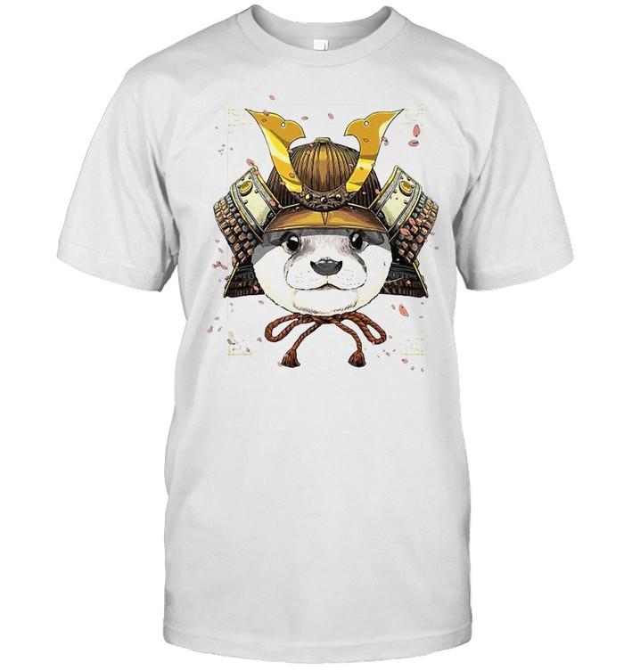 Samurai Otter Warrior Samurai Lovers T-shirt Classic Men's T-shirt