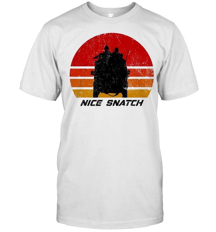 Nice Snatch Vintage Retro T-shirt Classic Men's T-shirt