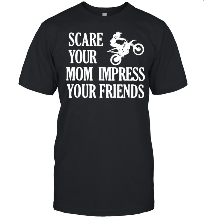 Scare Your Mom Impress Your Friends  Classic Men's T-shirt