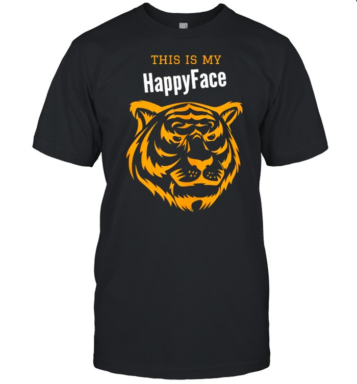 This is my happyface tiger T-shirt Classic Men's T-shirt