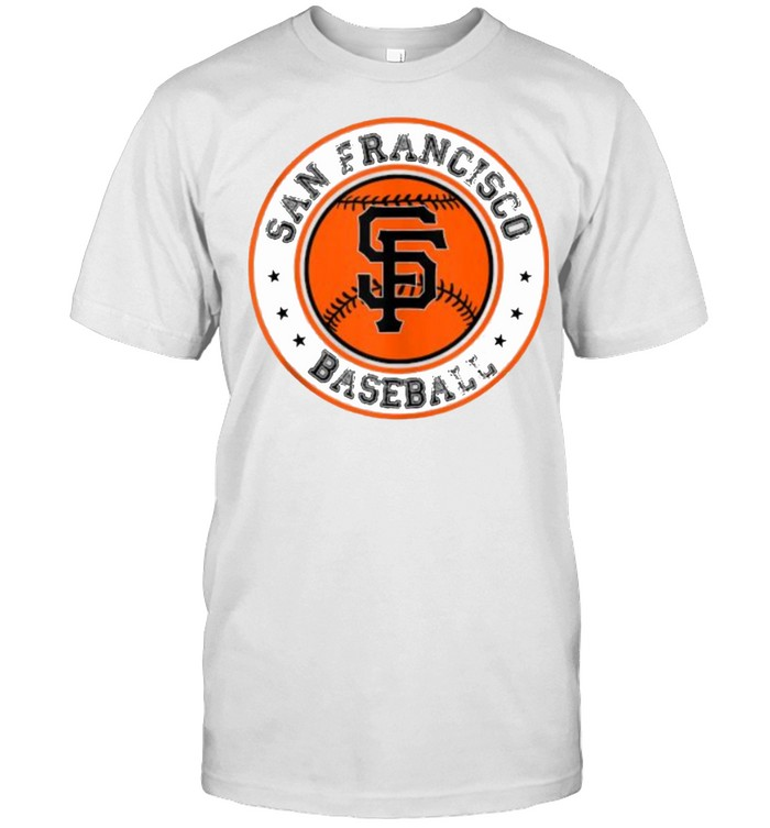 San Francisco Baseball SF The City Badge Giant  Classic Men's T-shirt
