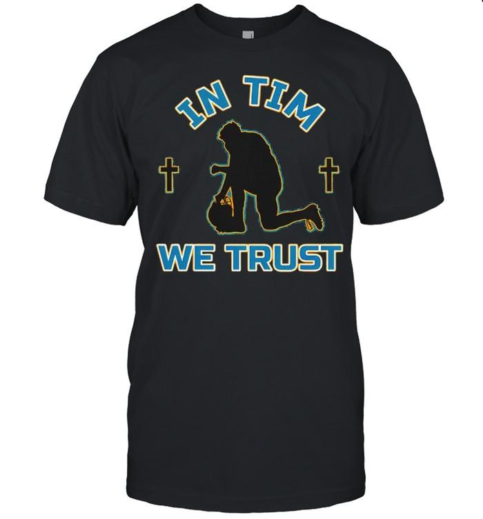 Jacksonville Jaguars in tim we trust shirt Classic Men's T-shirt