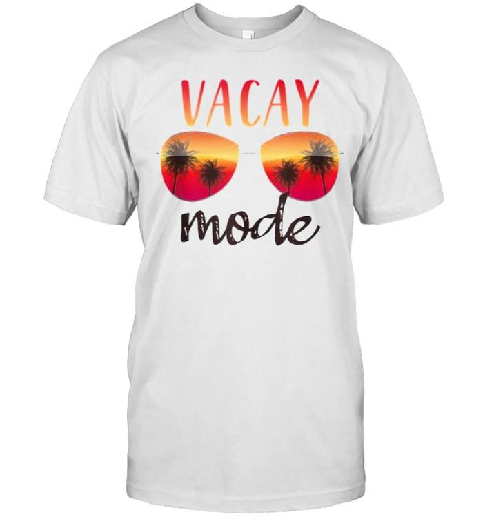 Vacay Mode Summer Cruise Getaway Glasses shirt Classic Men's T-shirt