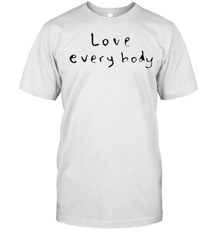 Love everybody shirt Classic Men's T-shirt