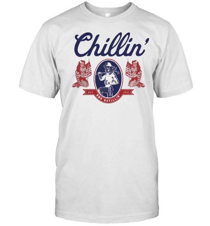 Chillin N Refillin shirt Classic Men's T-shirt