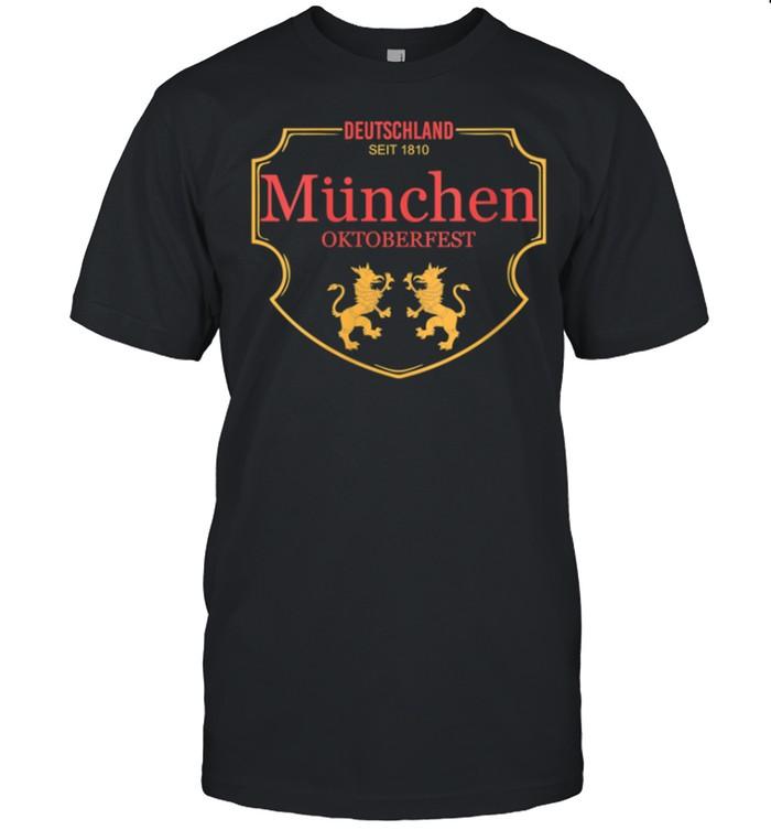 Deutschland Munchen Oktoberfest shirt Classic Men's T-shirt