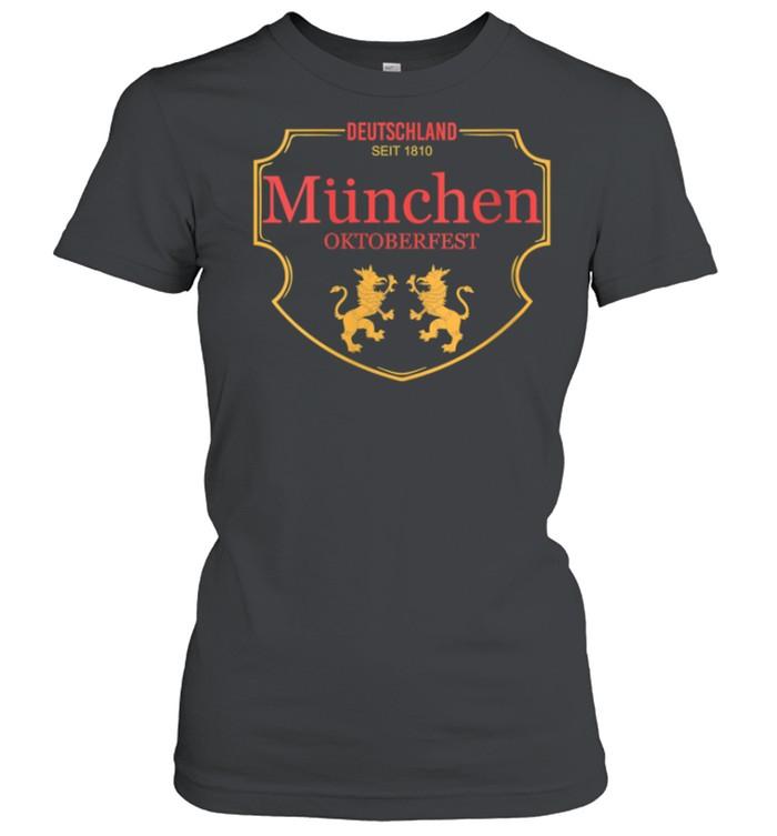 Deutschland Munchen Oktoberfest shirt Classic Women's T-shirt