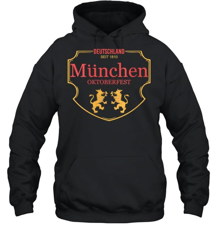 Deutschland Munchen Oktoberfest shirt Unisex Hoodie