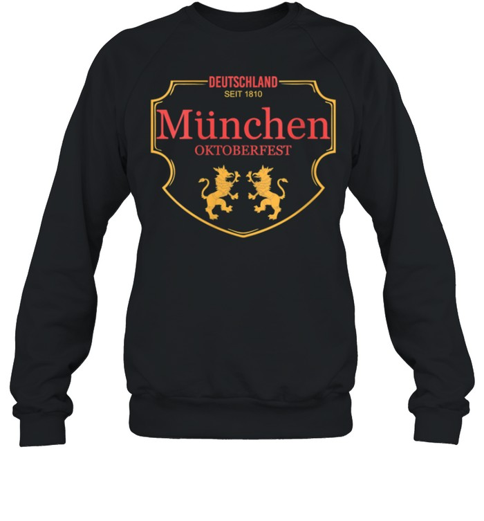 Deutschland Munchen Oktoberfest shirt Unisex Sweatshirt