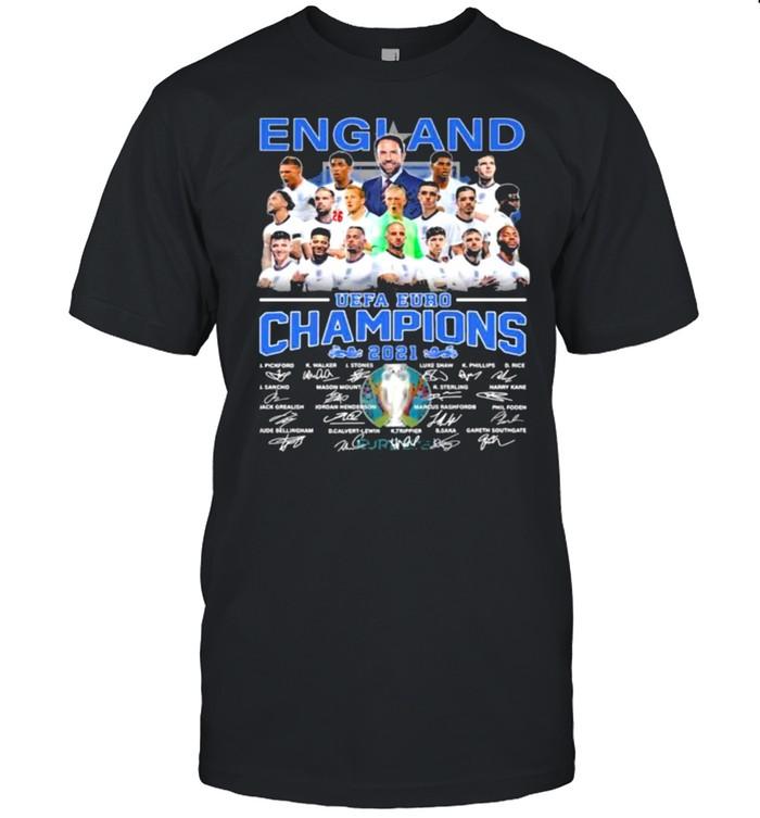 England euro champions 2021 signatures shirt Classic Men's T-shirt