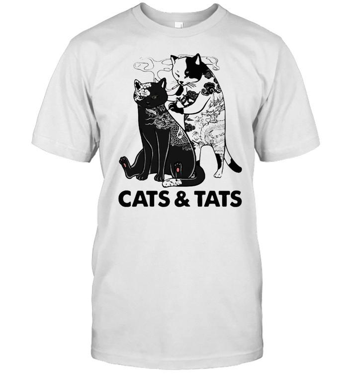 Cats and tats shirt Classic Men's T-shirt