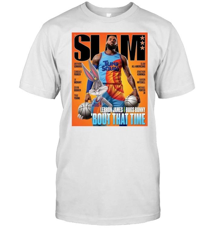 SLAM 233 Lebron James Bugs Bunny Bout that time shirt Classic Men's T-shirt