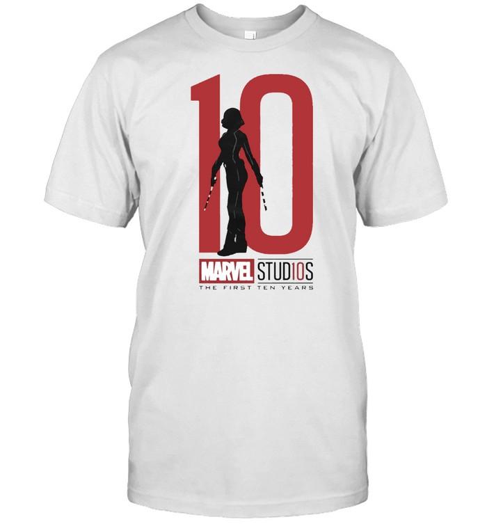 Widow Ten Marvel Studios the First Ten Years shirt Classic Men's T-shirt