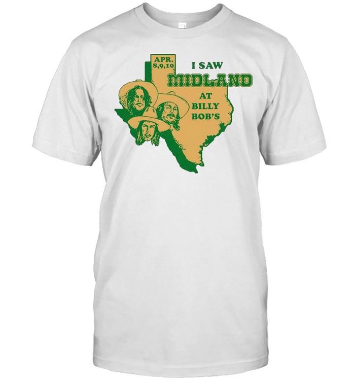 I saw Midland at Billy Bobs shirt Classic Men's T-shirt