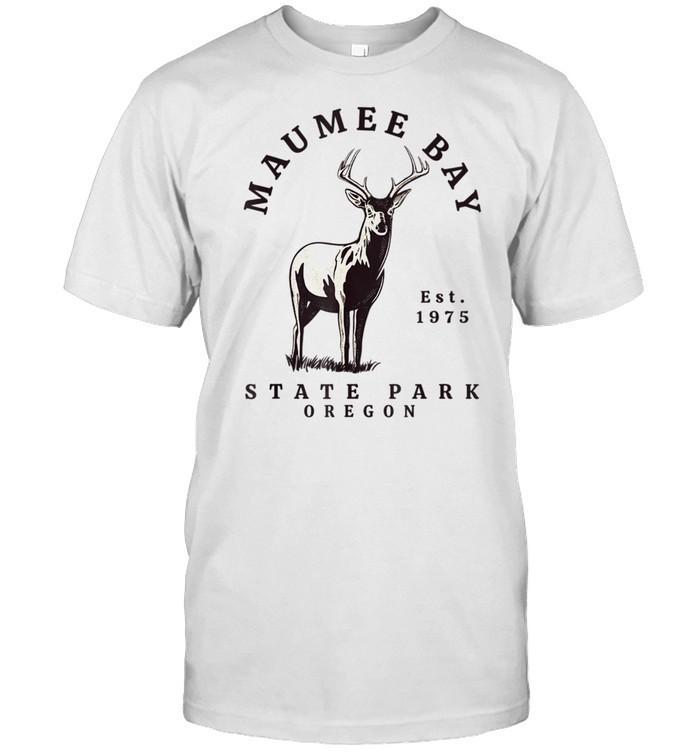 Maumee State Park Oregon deer shirt Classic Men's T-shirt