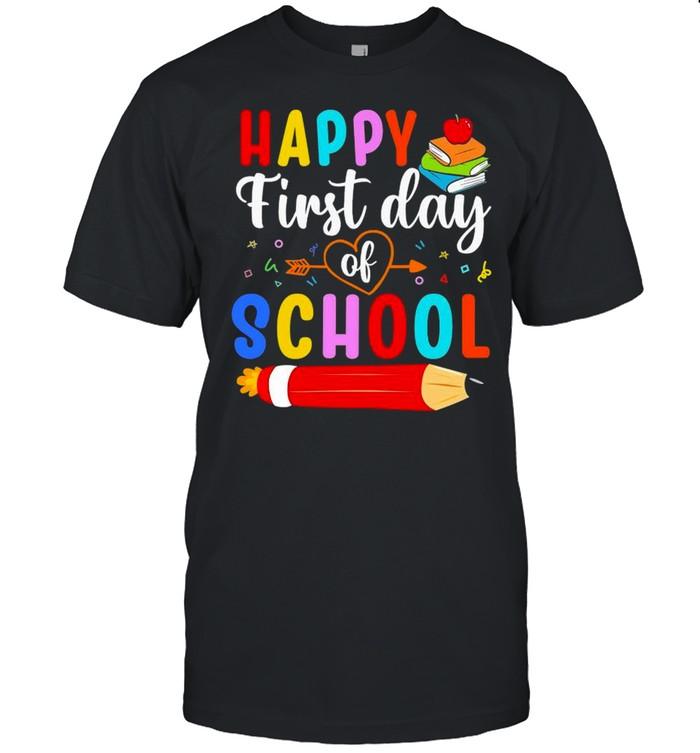 Happy First Day of School 2021 shirt Classic Men's T-shirt