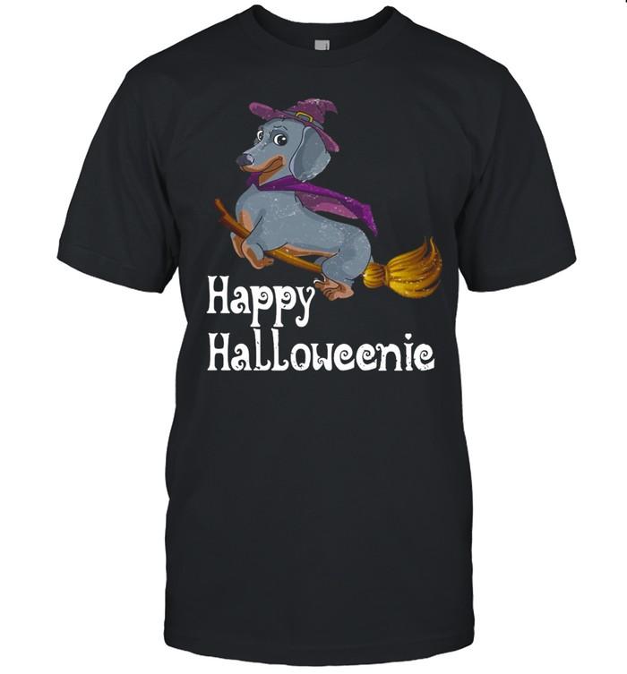 Happy Halloweenie Dachshund Halloween T-shirt Classic Men's T-shirt