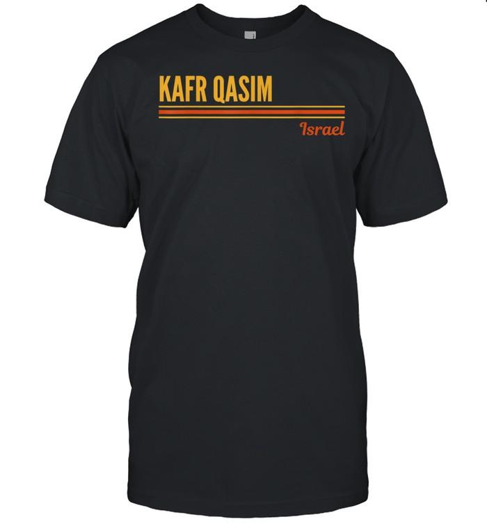 Kafr Qasim Israel shirt Classic Men's T-shirt