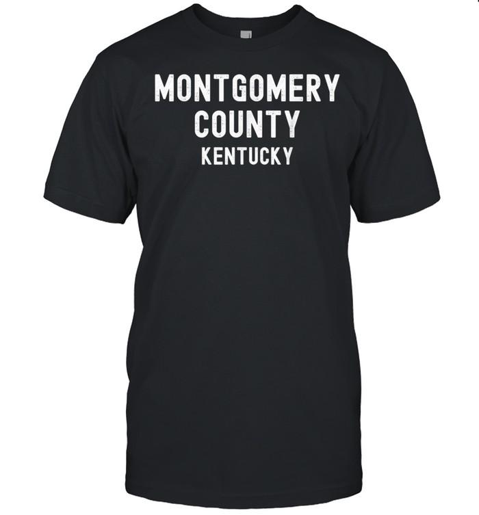 Montgomery County Kentucky, USA shirt Classic Men's T-shirt