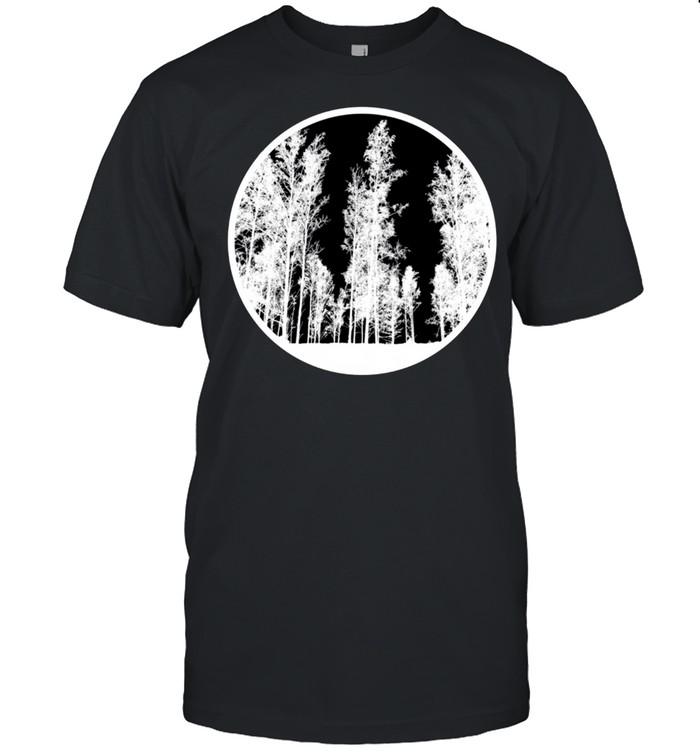 Vintage Tree Earth Modern Symbol shirt Classic Men's T-shirt