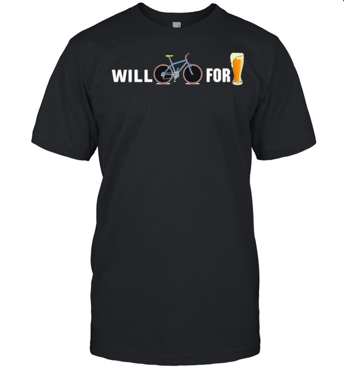 Will Cycling for beer shirt Classic Men's T-shirt