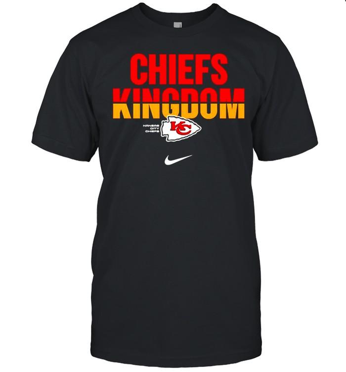 Kansas City Chiefs Nike Chiefs Kingdom shirt Classic Men's T-shirt
