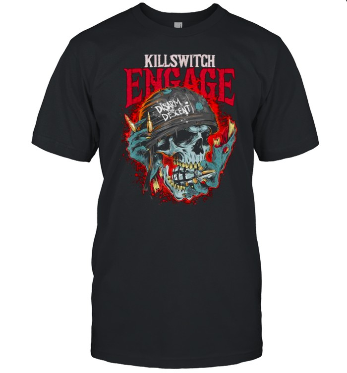 Killswitchs Engages Disarm The Descent Skull T- Classic Men's T-shirt