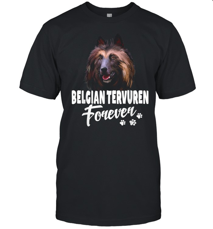Dogs 365 Belgian Tervuren Forever Cute Dog shirt Classic Men's T-shirt