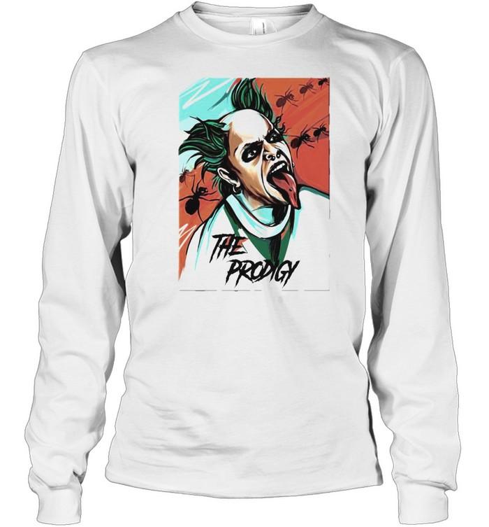 keith flint the prodigy shirt long sleeved t shirt