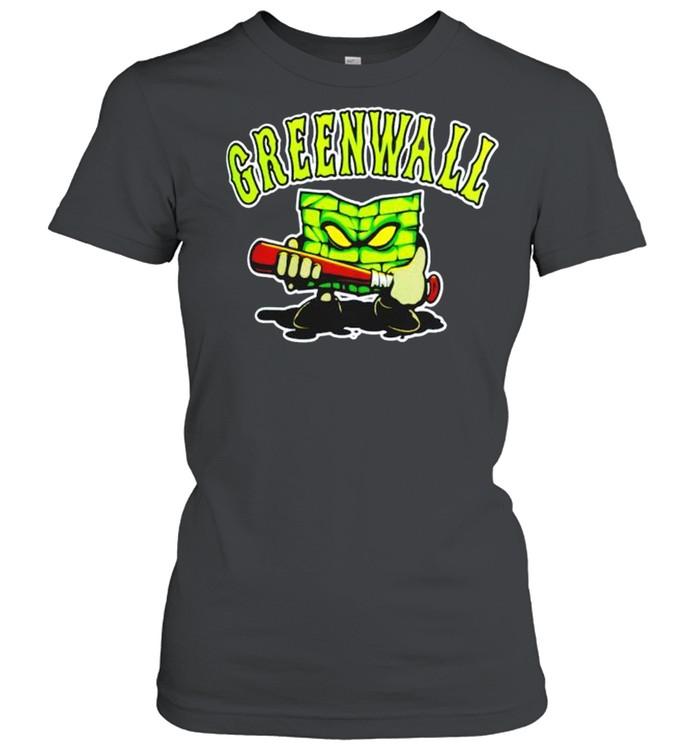 optic gaming green wall shirt classic womens t shirt