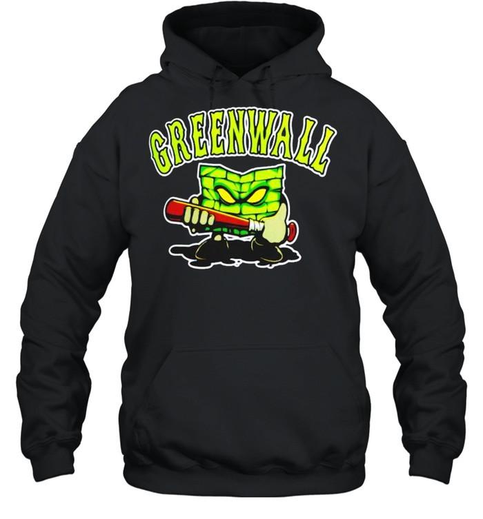 optic gaming green wall shirt unisex hoodie