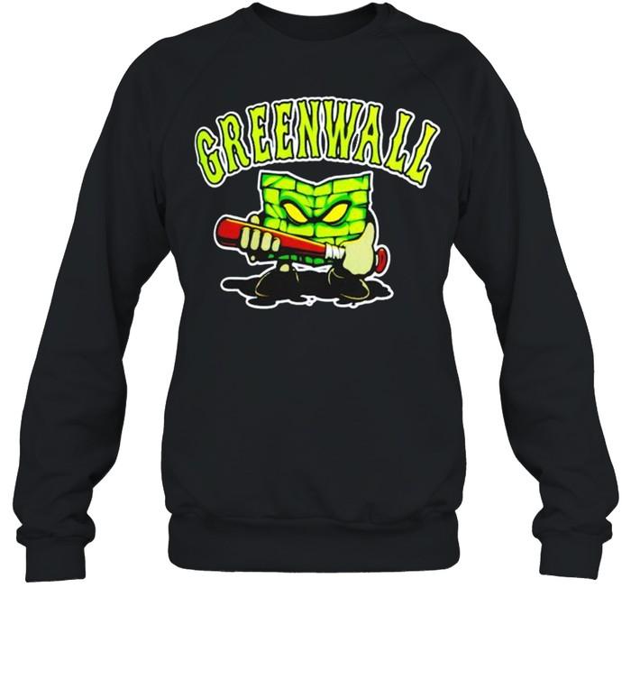 optic gaming green wall shirt unisex sweatshirt