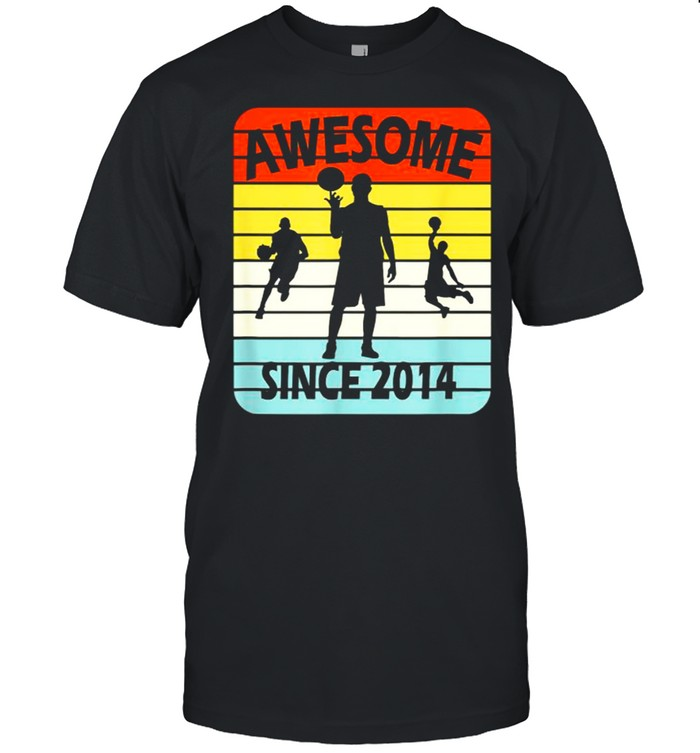 Awesome Since 2014 Age 7 Vintage T- Classic Men's T-shirt