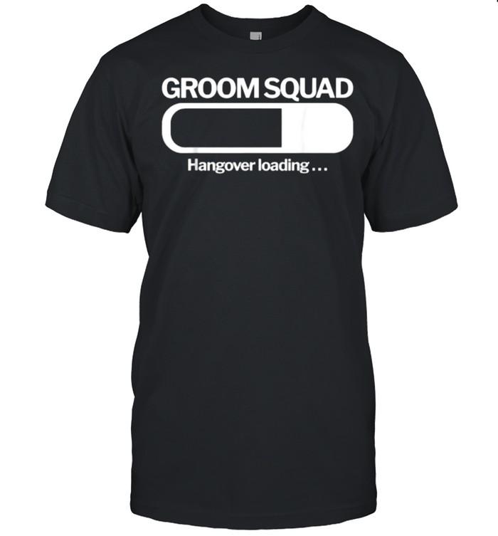 Groom Squad Hangover Loading T- Classic Men's T-shirt