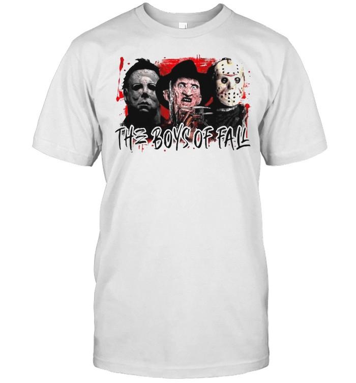Horror characters the boys of fall shirt Classic Men's T-shirt