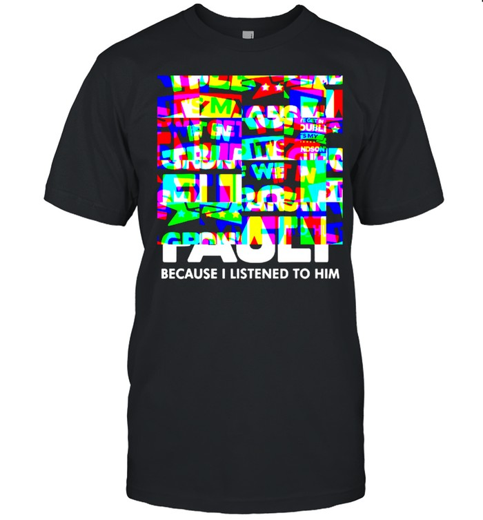 Best if We Get In Trouble It's My Grandson's Fault Because I Listened To Him T- Classic Men's T-shirt