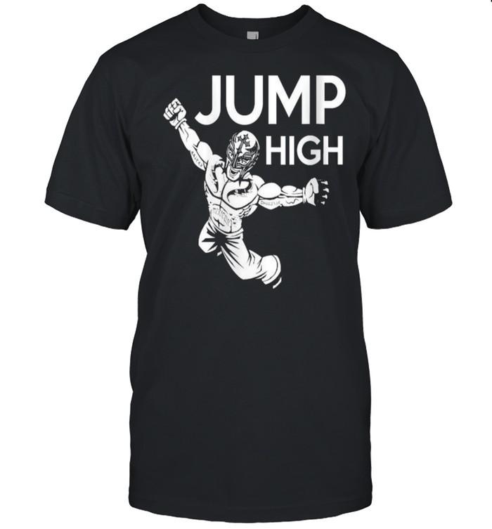 Wrestling Wrestler Jump High T- Classic Men's T-shirt