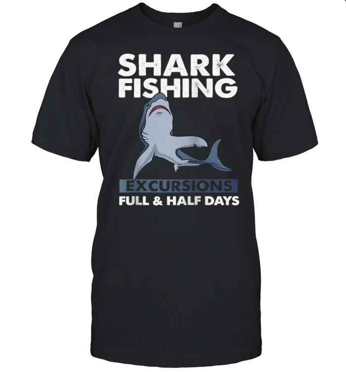I Love Sharks Shark Fishing shirt Classic Men's T-shirt