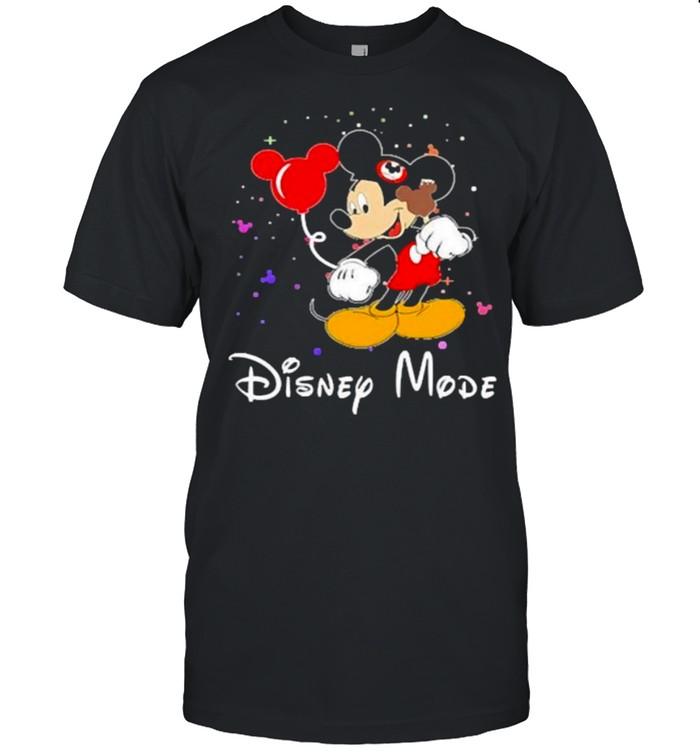 disney mode mickey mouse shirt Classic Men's T-shirt