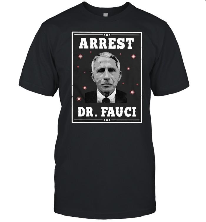 Arrest Dr Fauci T-shirt Classic Men's T-shirt