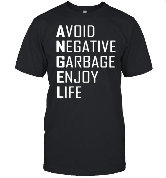 avoid negative garbage enjoy life shirt Classic Men's T-shirt