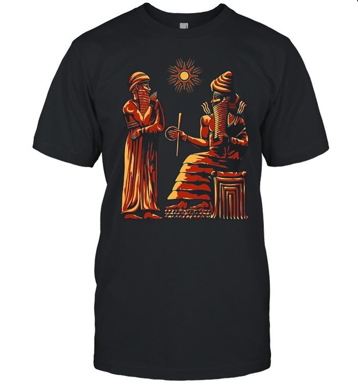 Code Of Hammurabi And Utu T-shirt Classic Men's T-shirt