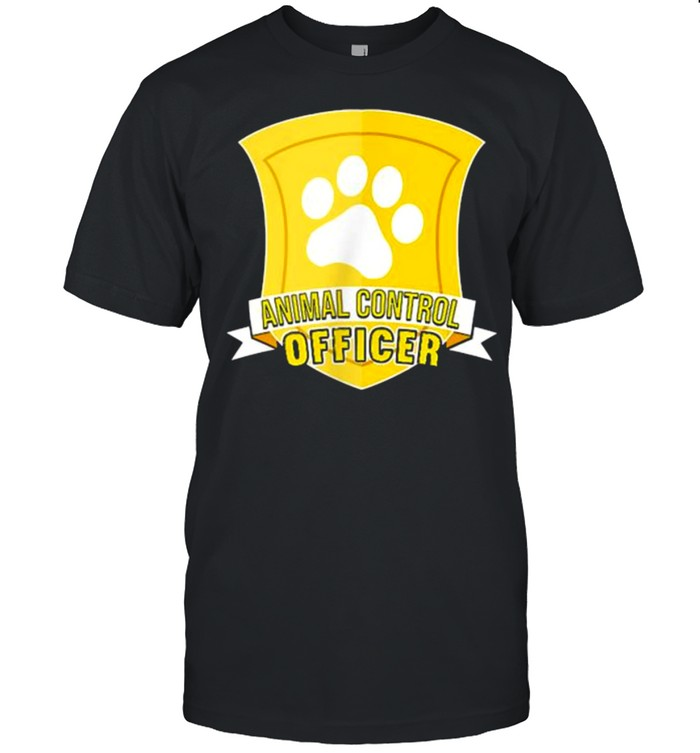 Nice animal Control Officer T- Classic Men's T-shirt