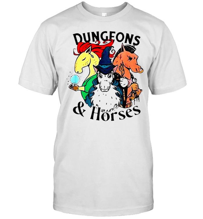 Dungeons And Horses T-shirt Classic Men's T-shirt