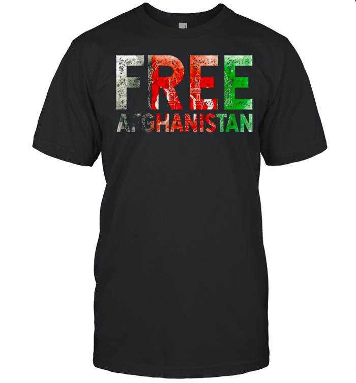 Free Afghanistan Save Kabul Tee s Classic Men's T-shirt