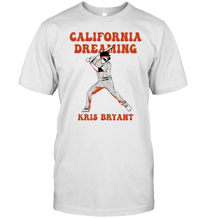 Kris Bryant California dreaming shirt Classic Men's T-shirt